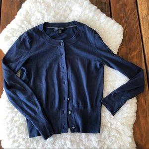 Banana Republic Silk Cotton Cashmere Cardigan